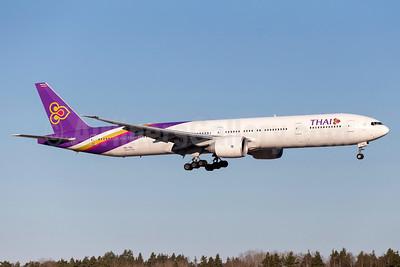Thai Airways International Boeing 777-3AL ER HS-TKL (msn 41521) ARN (Stefan Sjogren). Image: 937756.