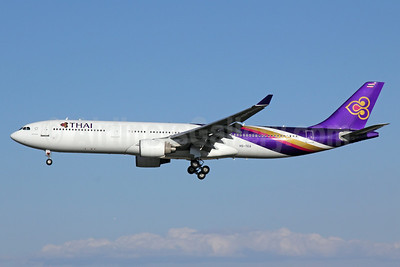 Thai Airways International Airbus A330-321 HS-TEA (msn 050) PEK (Michael B. Ing). Image: 923689.
