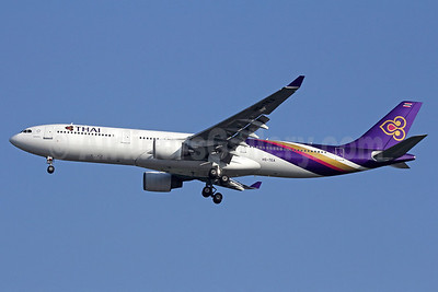Thai Airways International Airbus A330-321 HS-TEA (msn 050) BKK (Michael B. Ing). Image: 911274.