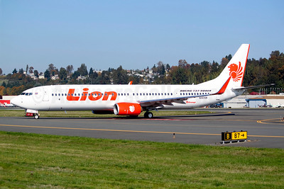 Thai Lion Air Boeing 737-9GP ER WL N5515R (HS-LTI) (msn 38738) BFI (Joe G. Walker). Image: 913944.