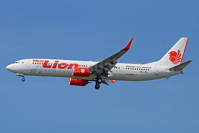 Thai Lion Air Boeing 737-9GP ER WL HS-LTR (msn 39837) DMK (Michael B. Ing). Image: 939277.