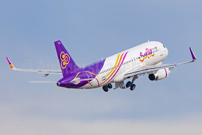 Thai Smile (Thai Airways International) Airbus A320-232 WL F-WWBF (HS-TXU) (msn 6795) TLS (Clement Alloing). Image: 930016.