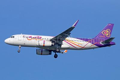 Thai Smile Airbus A320-232 WL HS-TXO (msn 6140) DMK (Michael B. Ing). Image: 946614.