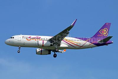Thai Smile Airbus A320-232 WL HS-TXR (msn 6374) BKK (Michael B. Ing). Image: 946617.