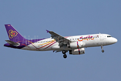 Thai Smile (Thai Airways International) Airbus A320-232 HS-TXD (msn 5301) BKK (Michael B. Ing). Image: 910391.