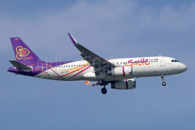 Thai Smile Airbus A320-232 WL HS-TXP (msn 6254) BKK (Michael B. Ing). Image: 946615.