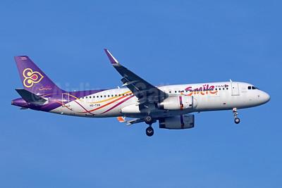 Thai Smile Airbus A320-232 WL HS-TXN (msn 6113) BKK (Michael B. Ing). Image: 946613.