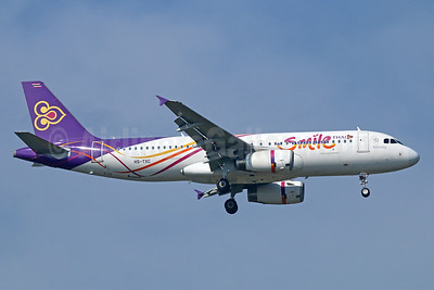 Thai Smile (Thai Airways International) Airbus A320-232 HS-TXC (msn 5258) BKK (Michael B. Ing). Image: 910390.