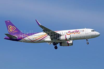 Thai Smile Airbus A320-232 WL HS-TXS (msn 6417) BKK (Michael B. Ing). Image: 946618.