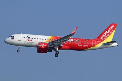 Vietjet Air Thailand (VietJetAir.com) Airbus A320-214 WL HS-VKC (msn 6878) (Amazing Thailand) BKK (Michael B. Ing). Image: 940671.