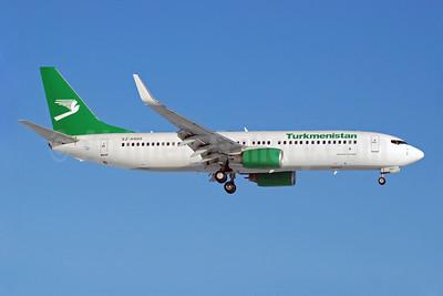 Turkmenistan Airlines Boeing 737-82K WL EZ-A005 (msn 36089) DME (OSDU). Image: 907884.