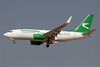 Turkmenistan Airlines Boeing 737-72K WL EZ-A008 (msn 37237) DXB (Paul Denton). Image: 912804.