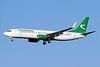 Turkmenistan Airlines Boeing 737-82K WL EZ-A016 (msn 39775) LHR (Keith Burton). Image:   928785.