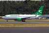 Turkmenistan Airlines Boeing 737-7GL WL EZ-A006 (msn 37235) BFI (Joe G. Walker). Image: 903427.