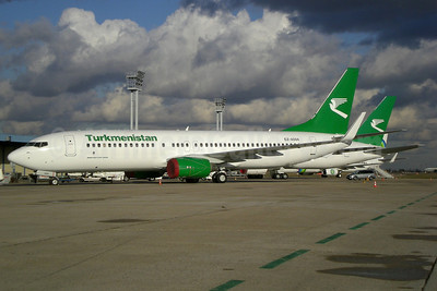 Turkmenistan Airlines Boeing 737-82K WL EZ-A004 (msn 36088) ORY (Pepscl). Image: 905356.