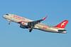 Air Arabia (airarabia.com) (UAE) Airbus A320-214 WL D-AUBT (A6-ANW) (msn 6000) (Flying the 6000th Airbus A320 Family) XFW (Gerd Beilfuss). Image: 922187.