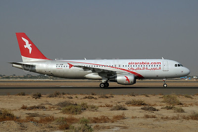 Air Arabia (airarabia.com) (UAE) Airbus A320-214 A6-ANM (msn 5307) SHJ (Paul Denton). Image: 913890.