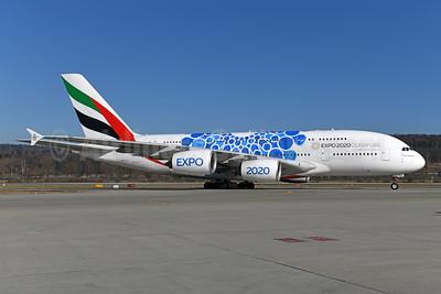 """Blue version of """"Expo 2020 Dubai UAE"""" special livery"""
