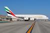 Emirates Airline Airbus A380-861 A6-EET (msn 142) (Expo 2020 Dubai UAE) LAX. Image: 937545.