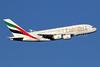 Emirates Airline Airbus A380-861 A6-EDI (msn 028) (Expo 2020 Dubai UAE) LHR (SPA). Image: 936020.