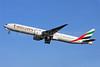 Emirates Airline Boeing 777-31H ER A6-EBM (msn 34482) LHR (Keith Burton). Image: 902331.