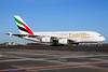 Emirates Airline Airbus A380-861 A6-EDQ (msn 080) AMS (Ton Jochems). Image: 911106.