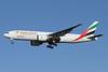 Emirates SkyCargo (Emirates Airline) Boeing 777-F1H A6-EFJ (msn 35610) LHR (Keith Burton). Image: 921970.