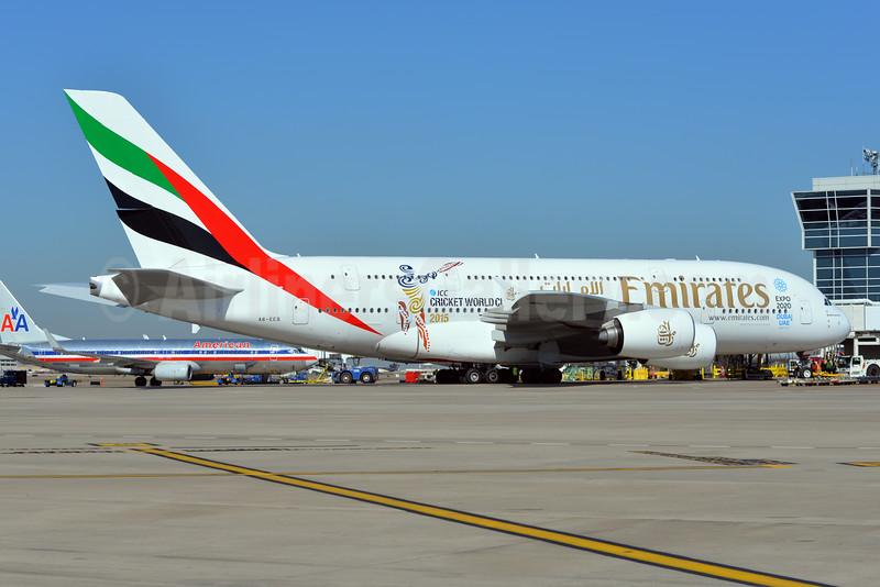 Emirates' ICC Cricket World Championship 2015 logo