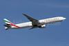Emirates Airline Boeing 777-31H ER A6-EGA (msn 38984) ZRH (Andi Hiltl). Image: 907331.