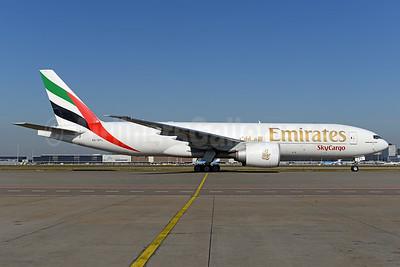 Emirates SkyCargo (Emirates Airline) Boeing 777-F1H A6-EFL (msn 42230) AMS (Ton Jochems). Image: 926658.