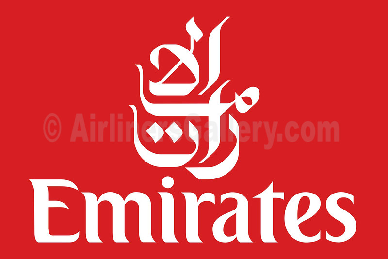 1. Emirates Airline logo