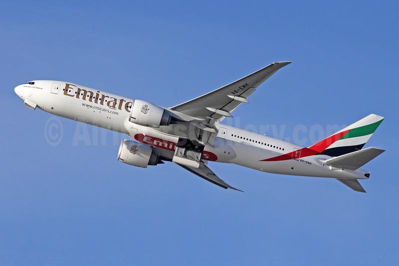 Emirates Airline Boeing 777-21H LR A6-EWH (msn 35587) LAX (Michael B. Ing). Image: 909550.