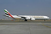 Emirates Airline Airbus A340-541 A6-ERJ (msn 694) DXB (Jay Selman). Image: 402030.