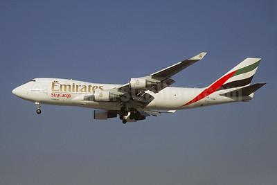 Emirates SkyCargo (Emirates Airline) (Atlas Air) Boeing 747-47UF N497MC (msn 29258) DXB (Christian Volpati). Image: 909084.