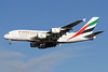 Emirates Airline Airbus A380-861 A6-EDL (msn 046) LHR (Rolf Wallner). Image: 908303.