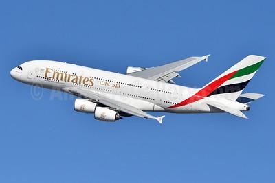 Emirates Airline Airbus A380-861 A6-EDD (msn 020) JFK (Fred Freketic). Image: 944350.