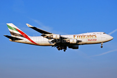 Emirates SkyCargo (Emirates Airline) (Atlas Air) Boeing 747-47UF N415MC (msn 32837) AMS (Karl Cornil). Image: 905567.