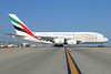 Emirates Airline Airbus A380-861 A6-EEL (msn 133) (Expo 2020 Dubai UAE) LAX. Image: 923029.