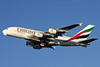 Emirates Airline Airbus A380-861 A6-EDB (msn 013) LHR (David Apps). Image: 901468.