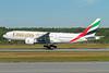 Emirates Airline Boeing 777-21H LR A6-EWA (msn 35572) ARN (Stefan Sjogren). Image: 913639.