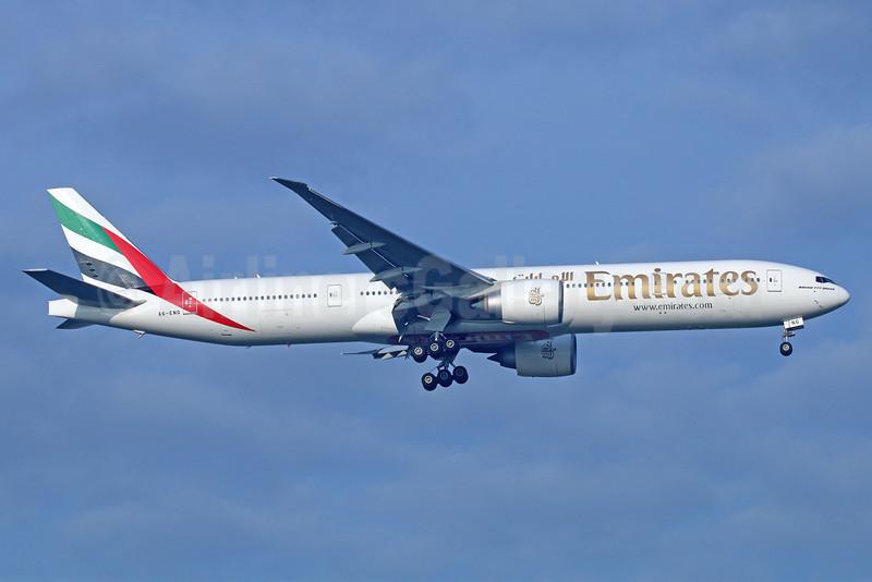 Emirates Airline Boeing 777-31H ER A6-ENG (msn 35604) BKK (Michael B. Ing). Image: 922154.