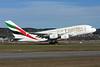 Emirates Airline Airbus A380-861 A6-EDO (msn 057) ZRH (Andi Hiltl). Image: 923810.