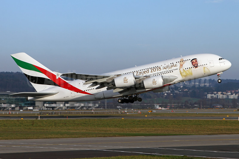 """""""Year of Zayed 2018"""" special livery"""