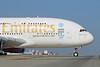 Emirates Airline Airbus A380-861 A6-EEL (msn 133) (Expo 2020 Dubai UAE) LAX. Image: 923030.