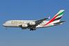 Emirates Airline Airbus A380-861 A6-EDH (msn 025) PEK (Michael B. Ing). Image: 907562.