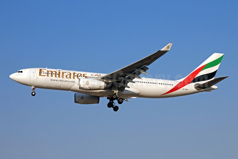 Emirates Airline Airbus A330-243 A6-EAM (msn 491) DXB (Christian Volpati). Image: 909005.