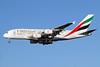 Emirates Airline Airbus A380-861 A6-EES (msn 140) (Expo 2020 Dubai UAE) LHR (Keith Burton). Image: 930911.