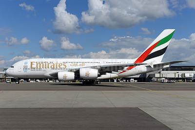 Emirates Airline Airbus A380-861 A6-EOB (msn 164) (Expo 2020 Dubai UAE) AMS (Ton Jochems). Image: 941277.