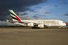 Emirates Airline Airbus A380-861 A6-EDI (msn 028) (Expo 2020 Dubai UAE) LHR. Image: 936019.