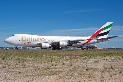 Leased from Atlas Air on February 9, 2001